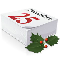 Agenda : 25 décembre, jour de Noël