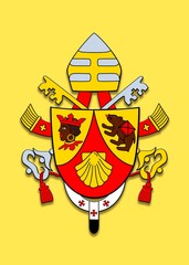 Coat of arms Benedicto XVI.