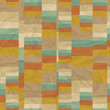Seamless retro geometric pattern.