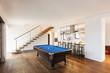 interior, room with billiard