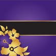 Floral Purple Card