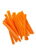Fresh carrots sticks
