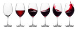 Red wine splash collection