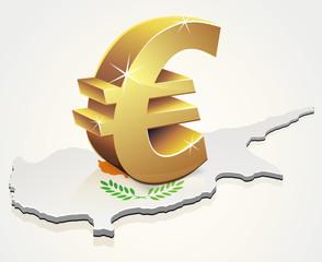 L'Euro à Chypre (reflet)