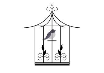 Cage oiseau -