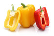Red, yellow bell pepper group