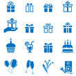 Geschenke / Party Set - present and party icon set