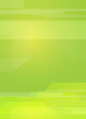 green linear backdrop