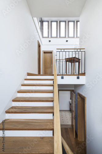 beautiful apartment, staircase