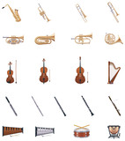 Vector Instruments of the Orchestra poster