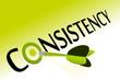 Consistency goal achievement
