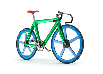Road tour bicycle concept. My own design.