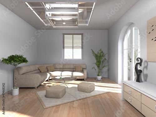 modern eingerichtetes wohnzimmer stockfotos und