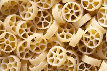 Italian pasta - wheels