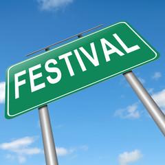 Festival concept.