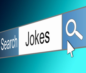 Search for jokes.