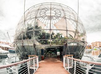 Biosphere. Genova, Italy
