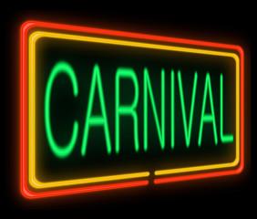 Carnival concept.