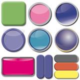 Apps, Button, Schalter, Knopf, Icon, Sammelbogen,