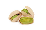 Pistachios (isolated)