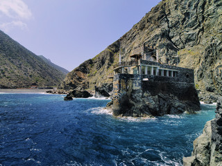 Castel del Mar(Sea Castel), La Gomera, Canary Islands, Spain