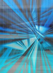 blue digital abstract