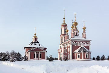 Saint Michael Monastery in Suzdal, Russia