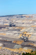 Brown coal mine