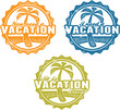 Travel and Vacation Stamps