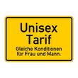 ortsschild unisex tarif I
