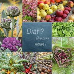 Diät? Gesund leben!