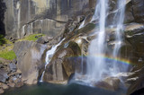 Fototapeta Kalifornia - kaskada - Kaskada / Wodospad / Gejzer