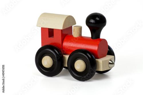 Dampflok - Holzeisenbahn