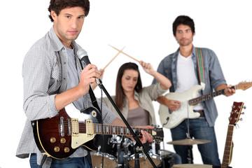 Garage band.