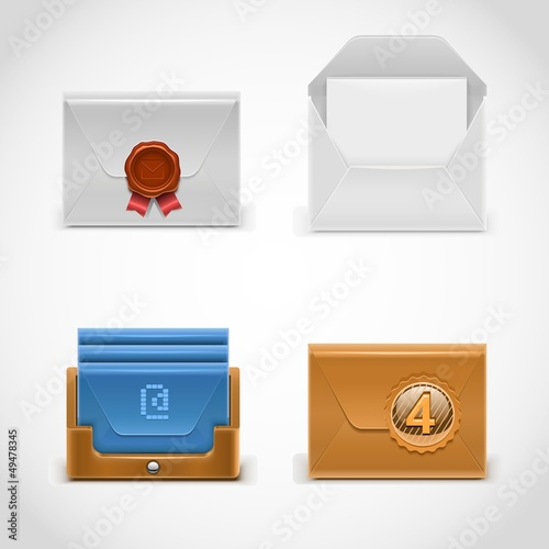 envelope vector icons
