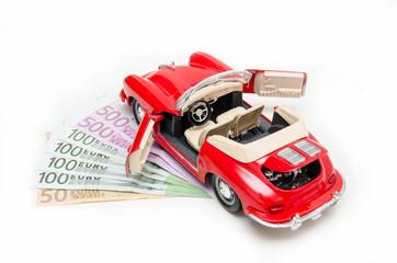 Saving money for the dream car