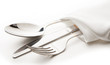 canvas print picture - cutlery