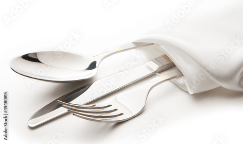 canvas print picture cutlery