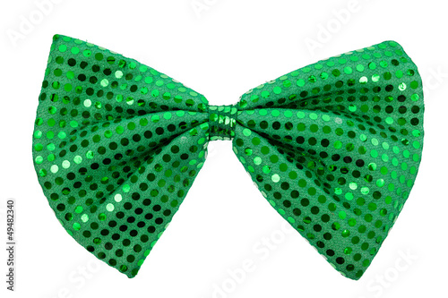 Green St. Patricks Day bow tie