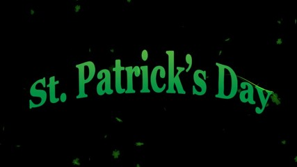 St Patricks Day 3D Animation