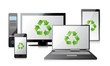 recycle Computer, Laptop Tablet and Phone, router