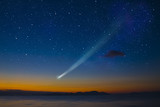 Fototapeta noc - wszechświat - Noc