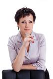 close-up portraits businesswoman