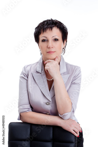 close-up portraits businesswoman