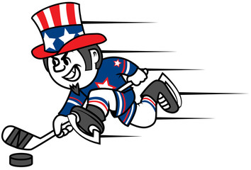Hockey Uncle Sam