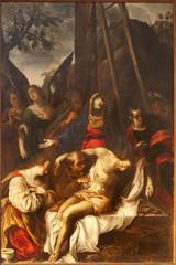 Verona - Deposition from the cross  in church San Fermo Maggiore