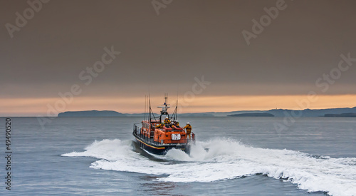 The RNLI Moelfre Lifeboat