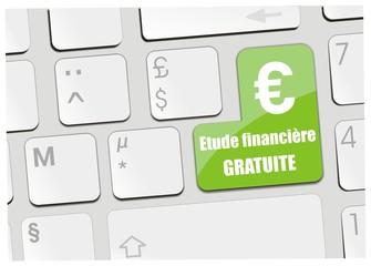 clavier étude financière gratuite