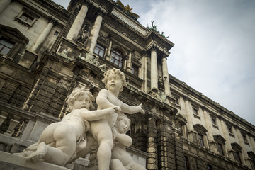 Cherub statues Vienna