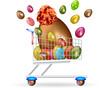 Il carrello di Pasqua